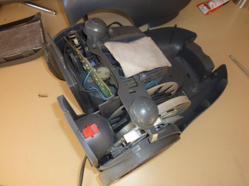 moteur d'aspirateur