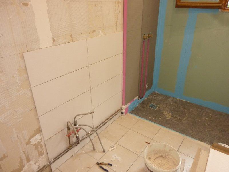 Fabriquer une douche italienne quelles parois de douche for Construire une salle de bain