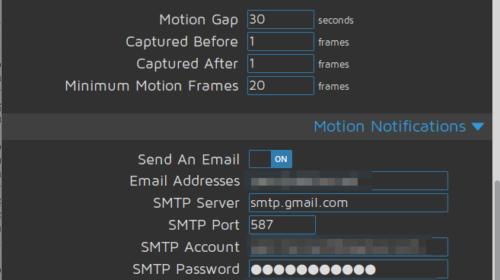 Motioneye : Video surveillance sur raspberry pi - Dekloo net