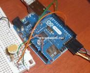 Arduino + ldr en  serveur web suite